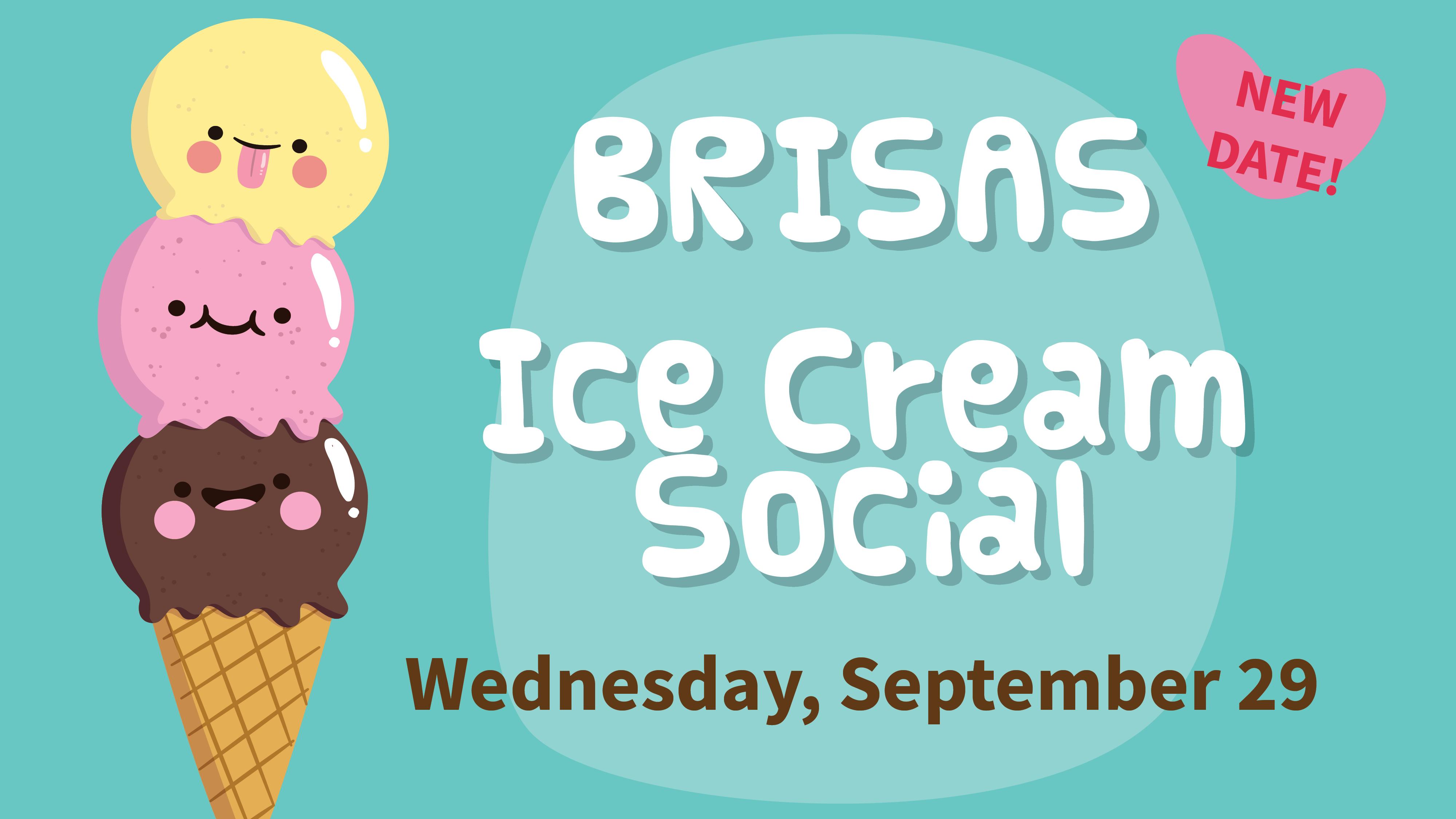 Ice Cream Social - NEW DATE!